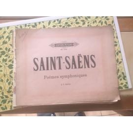 Saint Saens poèmes symphoniques no2132