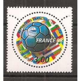 3139 (1998) France 98 Coupe du Monde de Football N** (cote 1,4e) (0941)
