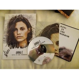 Anna F cd sampler album + poster + Dédicace   King In The Mirror