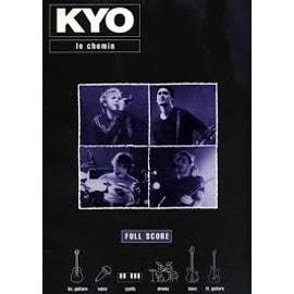 Kyo Le chemin Full score partition guitare chant clavier percussions