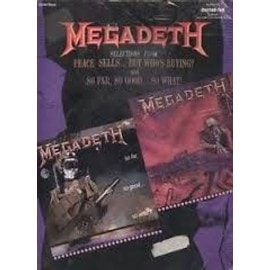 Megadeth Selections from Peace sells...but who's buying? and Si far,so good... so what!