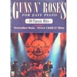 Guns n roses for easy piano