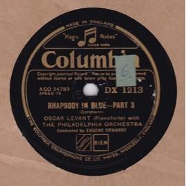 Rhapsody In Blue - Part 3/a Prelude No. 2; (b) Prelude No. 3