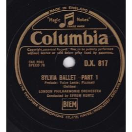 Sylvia Ballet-Part 1/2