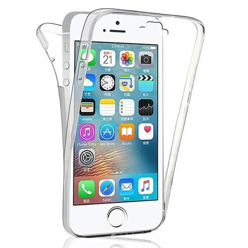 Coque Avant et Arrière Silicone Pour Apple iPhone 5/ 5S/ SE 360 ...