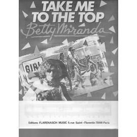 take me to the top (enregistré par betty miranda)