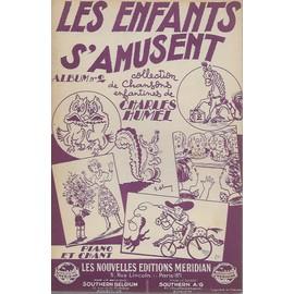 les enfants s'amusent - n° 2  (collection de chansons enfantines) piano et chant