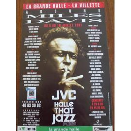 Concert AROUND MILES DAVIS 1991 Paris
