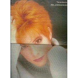 Mylène Farmer / new kids on the block poster Salut 1991
