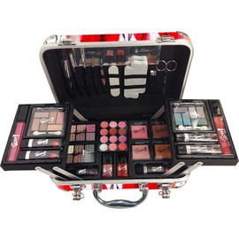 ece4e3c5fadf2e Coffret Cadeau Mallette De Maquillage Format Valise Fashion Week - 64pcs