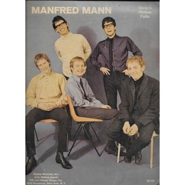 manfred mann - song & picture folio.- brother jack - come tomorrow - dashing away with the smoothing iron - do wah diddy diddy - now you're needing me - sha la la - she - what i to do