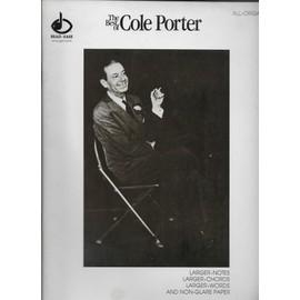 the best of cole porter. - all organ. - arrangements by robert siebert