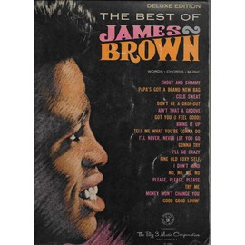 the best of james brown - words - chords - music.