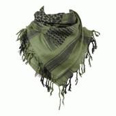 Shemagh   Keffieh   Cheche   Foulard Leger Unisexe Vert Et Noir 100 X 100 Cm c84ce017f6b