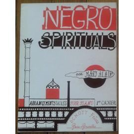 Negro Spirituals 1er cahier Arrangements facile pour Piano