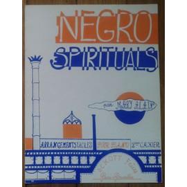Negro Spirituals 2ème cahier Arrangements facile pour Piano