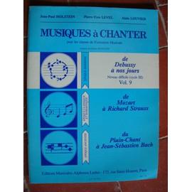 Musiques à CHanter pour les classes de formation musicale Vol 9