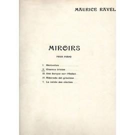 Maurice Ravel - Miroirs pour piano - 2 - Oiseaux tristes