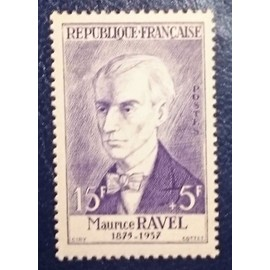 Timbre neuf **Maurice Ravel : n°1071