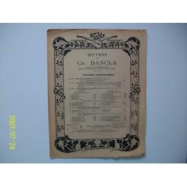 Oeuvres de Charles Dancla. Chanson du pays. Op.167.  Pour violon et piano.