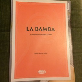LA BAMBA P/V/G sheet music [Partition] by RITCHIE VALENS