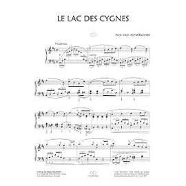 LE LAC DES CYGNES - LA MUSIQUE EN IMAGES - PIANO FACILE - EDITIONS VAN DE VELDE