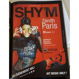 poster a4 shy'm