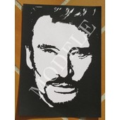 Portrait johnny hallyday pas cher ou d 39 occasion sur for Miroir johnny hallyday