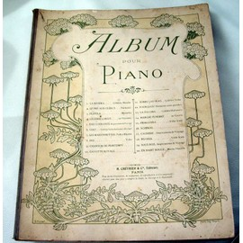 ALBUM POUR PIANO-20 TITRES-EDITIONS CHEVRIER-