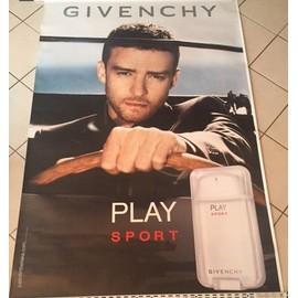 Givenchy - Play Sport - AFFICHE / POSTER envoi en tube - 120x175cm