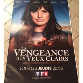 La Vengeance aux Yeux Clairs - Laetitia Millot - AFFICHE / POSTER envoi en tube - 120x175cm