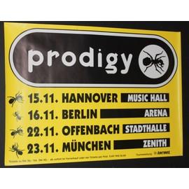 Prodigy - German Concert Tour - AFFICHE / POSTER envoi en tube - 59x84cm