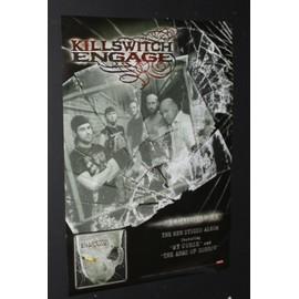 Killswitch Engage - As Daylight Dies - AFFICHE / POSTER envoi en tube - 42x60cm