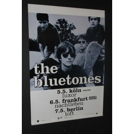 Bluestones  - The Bluestones - 'Expecting To Fly' Tour Dates Poster German 1996 - AFFICHE / POSTER envoi en tube - 59x84cm