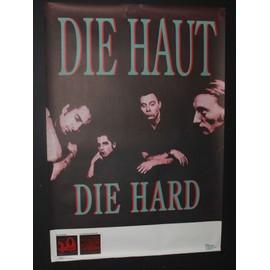 Die Haut - Die Hard 1988 Original Concert Blank Tour Poster - AFFICHE / POSTER envoi en tube - 59x84cm