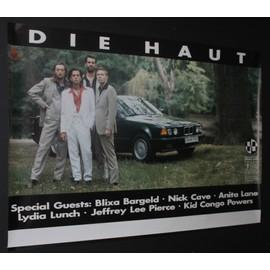 Die Haut - Head On 1992 Original Concert Blank Tour Poster - AFFICHE / POSTER envoi en tube - 59x84cm