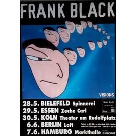 Frank Black  - Cult of Ray Tour-1996 - AFFICHE / POSTER envoi en tube - 59x84cm