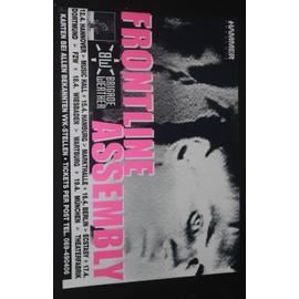 Frontline Assembly  - Virus 1990 Original Concert Tour Dates Poster  - AFFICHE / POSTER envoi en tube - 59x84cm