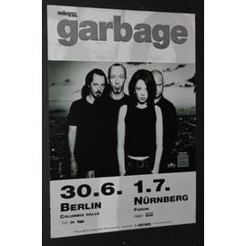 Garbage  - Version 2 1998 Original Concert Tour Dates Poster - AFFICHE / POSTER envoi en tube - 59x84cm