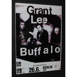 Grant Lee Buffalo - Grant Lee Buffalo + Special Guests - Tour Dates Poster Rare 1996 - AFFICHE / POSTER envoi en tube - 59x84cm