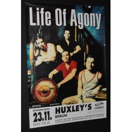 Life Of Agony - Life Of Agony - Soul Searching Sun 1997 Original Concert Tour Poster  - AFFICHE / POSTER envoi en tube - 59x84cm