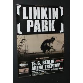 Linkin Park - Linkin Park - Meteroa Concert Tour Poster 2004  - AFFICHE / POSTER envoi en tube - 59x84cm