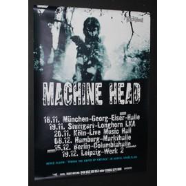 Machine Head - 2003 German Tour Poster - AFFICHE / POSTER envoi en tube - 59x84cm