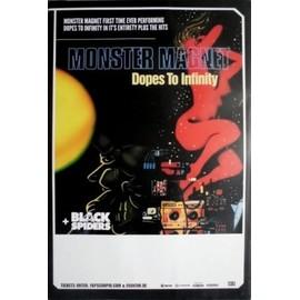 Monster Magnet - Monster Magnet - Dopes To Infinity 1995 Concert Tour Poster  - AFFICHE / POSTER envoi en tube - 59x84cm