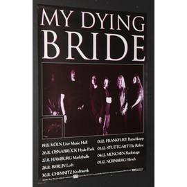 My Dying Bride - Concert Tour - AFFICHE / POSTER envoi en tube - 59x84cm