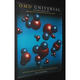 OMD  - OMD - Universal (1996)-Walking The Milky way - AFFICHE / POSTER envoi en tube - 59x84cm