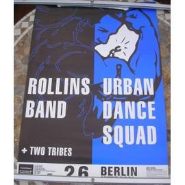 Rollins Band - Rollins Band & Urban Dance Squad - Concert Tour Poster - AFFICHE / POSTER envoi en tube - 59x84cm