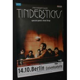 Tindersticks  - Tindersticks & Arab Strap  - Simple Pleasure 1999 Original Concert Tour Poster  - AFFICHE / POSTER envoi en tube - 59x84cm