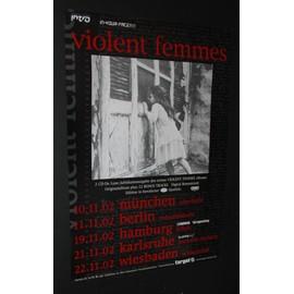 Violent Femmes - Tour Poster - AFFICHE / POSTER envoi en tube - 59x84cm