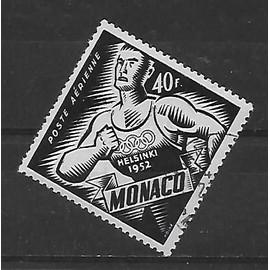 MONACO POSTE AERIENNE 1953 : Jeux olympiques d